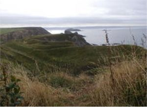 The Iron Age Fort at Porth-y-Rhaw